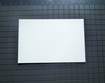 ACEO Artist Trading Card Blanks 140 lb Cold Press Watercolor High Quality Paper ATC Blank Art Cards