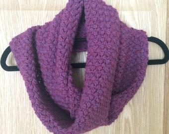 Infinity scarf - Burgundy