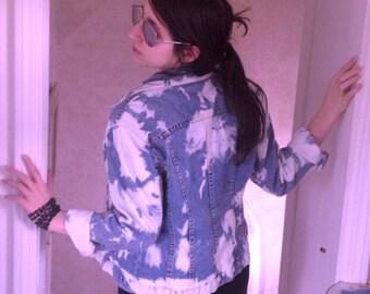 Cloud wash Denim Jacket