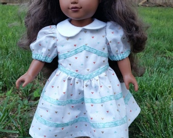18 Inch Doll 1950's Retro outfit