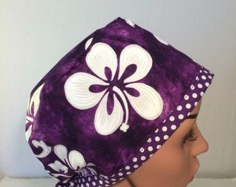 Surgical Scrub Cap, Nurse Cap, Chemo Cap , Scrub Hat, Pixie Hat.