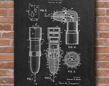 Dental Drill Patent Print, Dental Drill Patent, Dentist Gift, Dental Cabinet Decor, Patent Print - DA0442