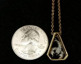 Scropio - Gold/Silver Zodiac Vintage Necklace