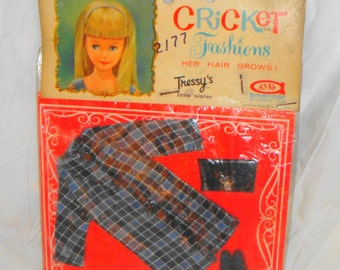 American Character Cricket Mint on Card Outfit #14102 Windy Weather