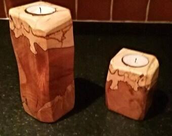 Irish Beech Tea light Set