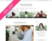 Wordpress theme - wordpress template- Feminine wordpress theme - Responsive WordPress Theme - Blog template - Fashion template - La Primrose