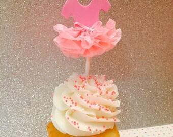 Tutu Cupcake Toppers (12)