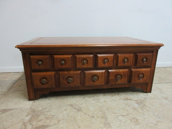 Ducks Unlimited Apothecary Chest Trunk By Zbrothersfurniture