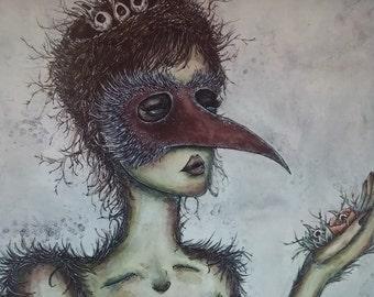 Mama Bird PRINT
