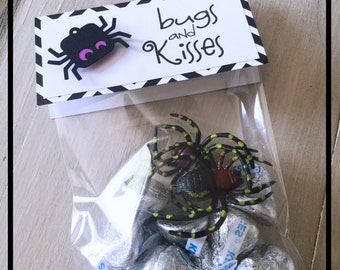 Halloween Goodie Bags, Halloween Party Bags, Halloween Party Supplies, Halloween Favor Bags, Halloween Tags For Goodie Bags, Halloween Party