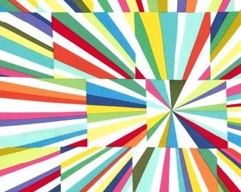 Fabric, Michael Miller Fireworks Fabric, Kaleidoscope fabric