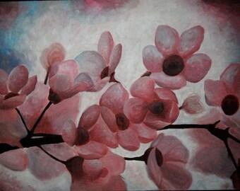 Custom Floral Paintings