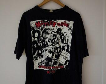 Vintage Motley Crue T-shirt