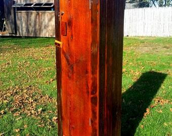 Barn Wood Gun Cabinet