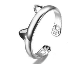 Adjustable Cat Ring Kitten Play BDSM
