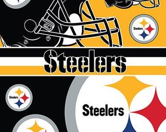 Pittsburgh Steelers Beach Towel for 2 54x68