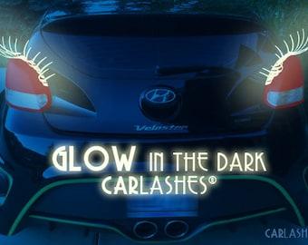 Glow-in-the-Dark CarLashes® car eyelashes