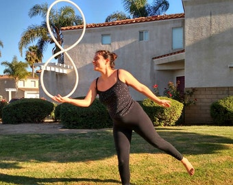 Convertible hula hoop