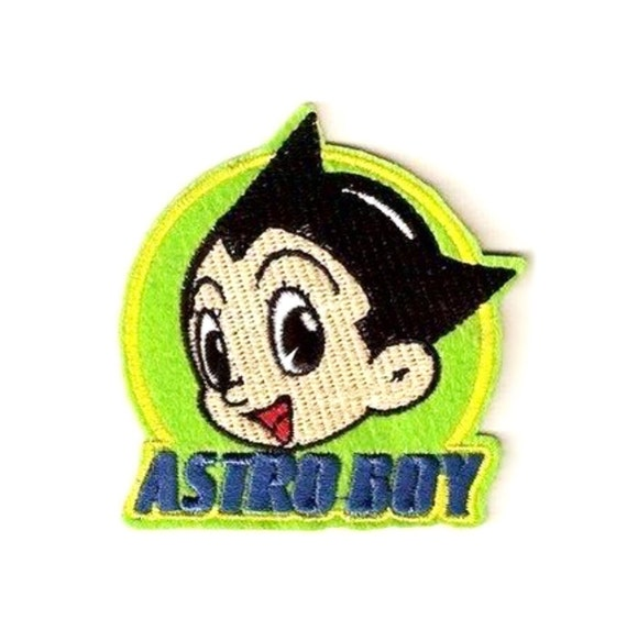 Astro Boy Patch Embroidered Patch Iron On Patch Sew By