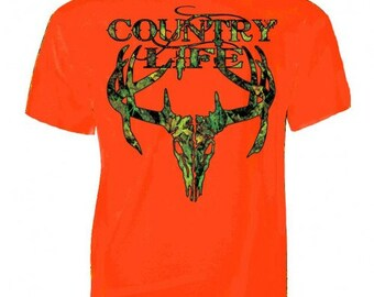 Country Life Camo Skull NEW with tags