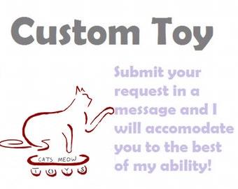 Custom Catnip Cat Toy