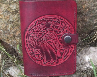 Artisan portfolio in full leather, color and pattern to the choice