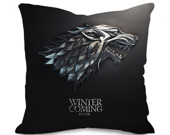 Game Of Thrones House Stark Cushion Cover