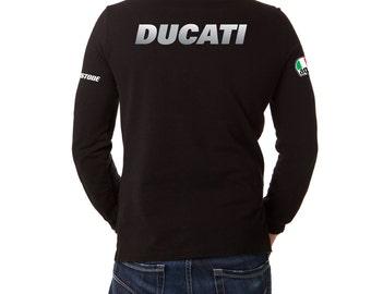 Ducati t shirt motorcycle shirt, long sleeves