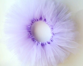 Lavendar tutu, purple tutu, baby girl purple tutu, girl labendar tutu, light pirole tutu, birthday tutu, easter tutu