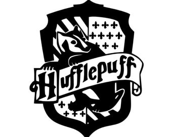 Hufflepuff Decal