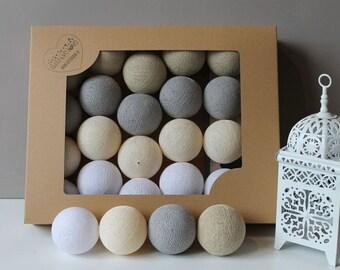 Cotton Ball Shiny Sand 10 items