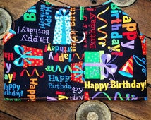 Happy Birthday Dog Harness, Dog Vest, Pet Accessories, Chihuahua Harness, Occasional Dog Clothes