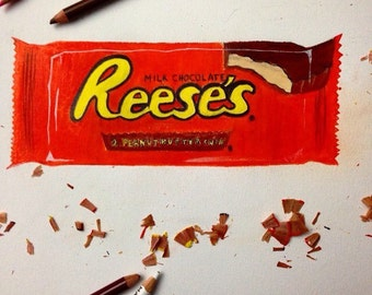 Reese's Chocolate drawing