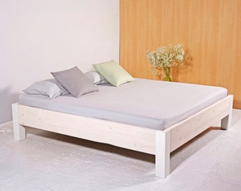 Industrial timber & iron PITERNET bed