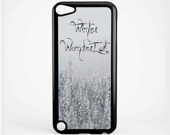 Winter Wanderlust for iPod 4th Generation, iPod 5th Generation and iPod 6th Generation Case