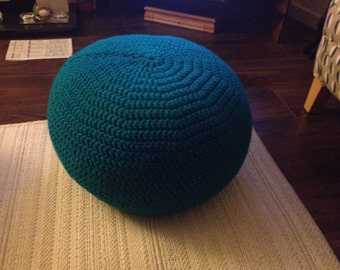 Crocheted Foot Pouffe