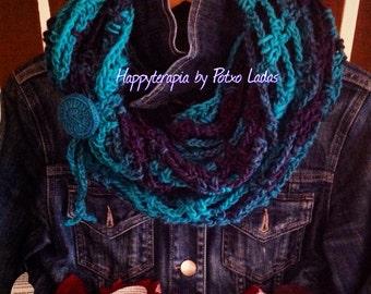 Pattern/Tutorial infinity scarf crochet