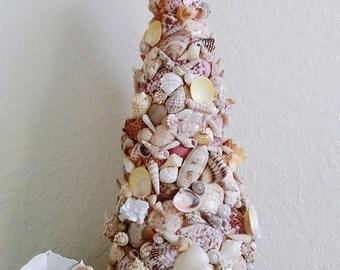Christmas Seashell Tree,