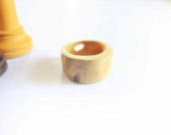 "Wooden ring ""Nature"""