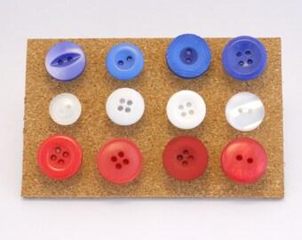 Button push pins