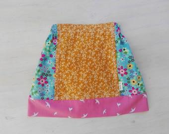 Cute elastic waist girls skirt