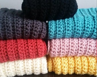 Infinity Scarf Handmade Crocheted