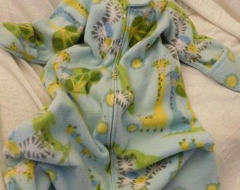 BABY FLEECE SLEEP Sack -- Fleece with mittens -- Medium Only