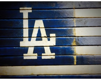 Los Angeles Dodgers Flag, Los Angeles Dodgers Banner, Los Angeles Dodgers Sign, Wood Dodgers Flag, Vintage Dodgers, Retro Dodgers Flag,
