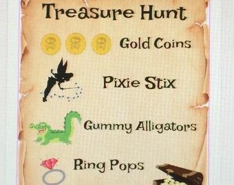 Treasure Hunt maps