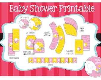 Baby Shower printable kit