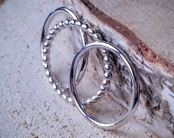 Silver Celtic Infinity Ring (Type I) - mm size
