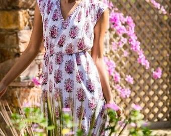 Beautiful Flower Laden Dress