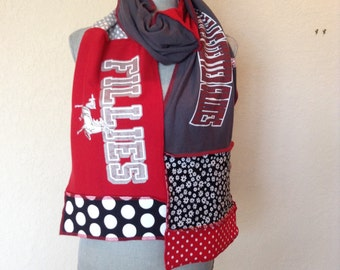 Dallas Center Grimes Scarf, tshirt scarf, Fillies t-shirt scarf, DCG1