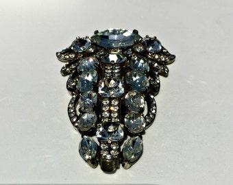 Vintage Eisenberg Fur Clip, Eisenberg Clip, Vintage Eisenberg jewelry